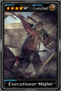 Deadman's Cross - Executioner Majini card