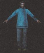 Degeneration Zombie body model 12