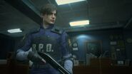 RE2 remake - Leon Classic Police costume