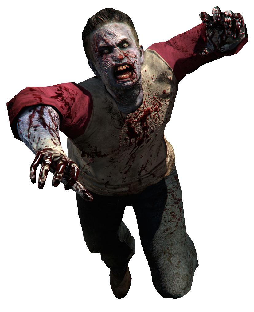 зомби на белом фоне картинки бокал