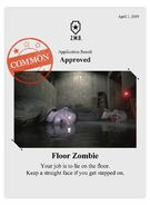 Zombieswanted floor zombie