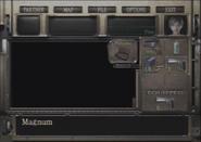 Resident Evil Zero Magnum inventory