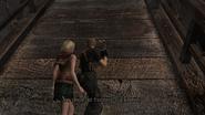 Resident Evil 4 Castle - Castle Entrance drawbridge