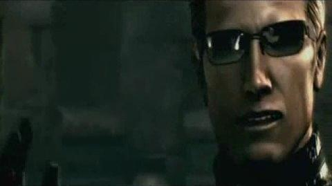 Wesker comes in RE 5 Yeah NEW VID