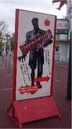 Expoland BIOHAZARD Nightmare sign