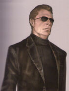RE5 Wesker Concept Art 1