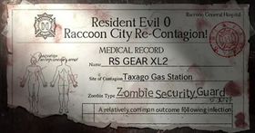 RE 0 Raccoon City Contagion Campaign