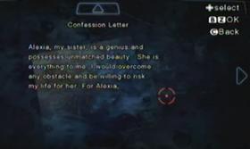 Carta de confesión