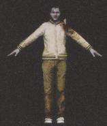 Degeneration Zombie body model 27