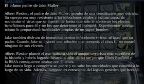 El infame padre de Jake Muller Archivo