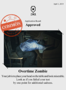 Zombieswanted overtime