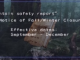 Mountain safety report