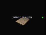 Rapport de Marvin