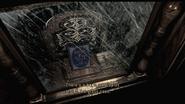 Resident Evil HD Eagle bookshelf examine 1
