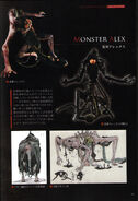 BIOHAZARD REVELATIONS 2 Concept Guide - Page 39 - Creatures (monster Alex Wesker)