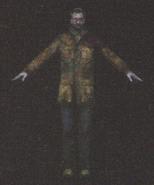 Degeneration Zombie body model 11