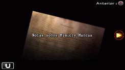 Notas sobre Mimicry Marcus