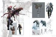 Resident Evil 6 Artworks - Creature Design (10)