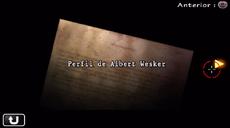 Perfil de Albert Wesker