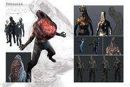 Resident Evil 6 Artworks - Creature Design (5)
