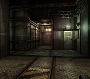 Arklay factory - Laboratory passage background 3