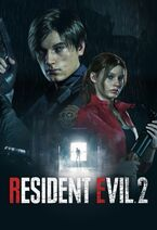 RE2 Remake Keyart