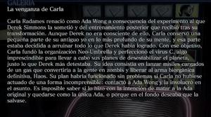 La venganza de Carla