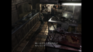 Resident Evil 0 HD - Kitchen utensils examine Japanese