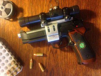 Resident Evil 0 custom handgun