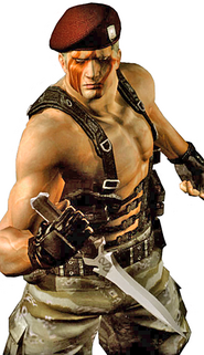 Krauser Mercenaries Render