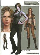 RE6 Concept Art - Helena