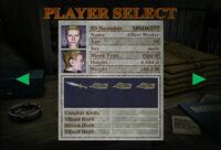 RECV Battle Game Wesker