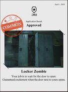 Zombieswanted locker zombie