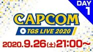 CAPCOM TGS LIVE 2020<DAY-1>9 26(土)21時~