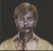 Degeneration Zombie face model 14