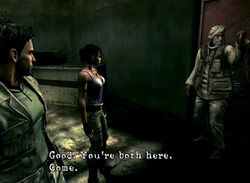 One Click Question - No.65 Chris & Sheva's 1st Destination in RE5