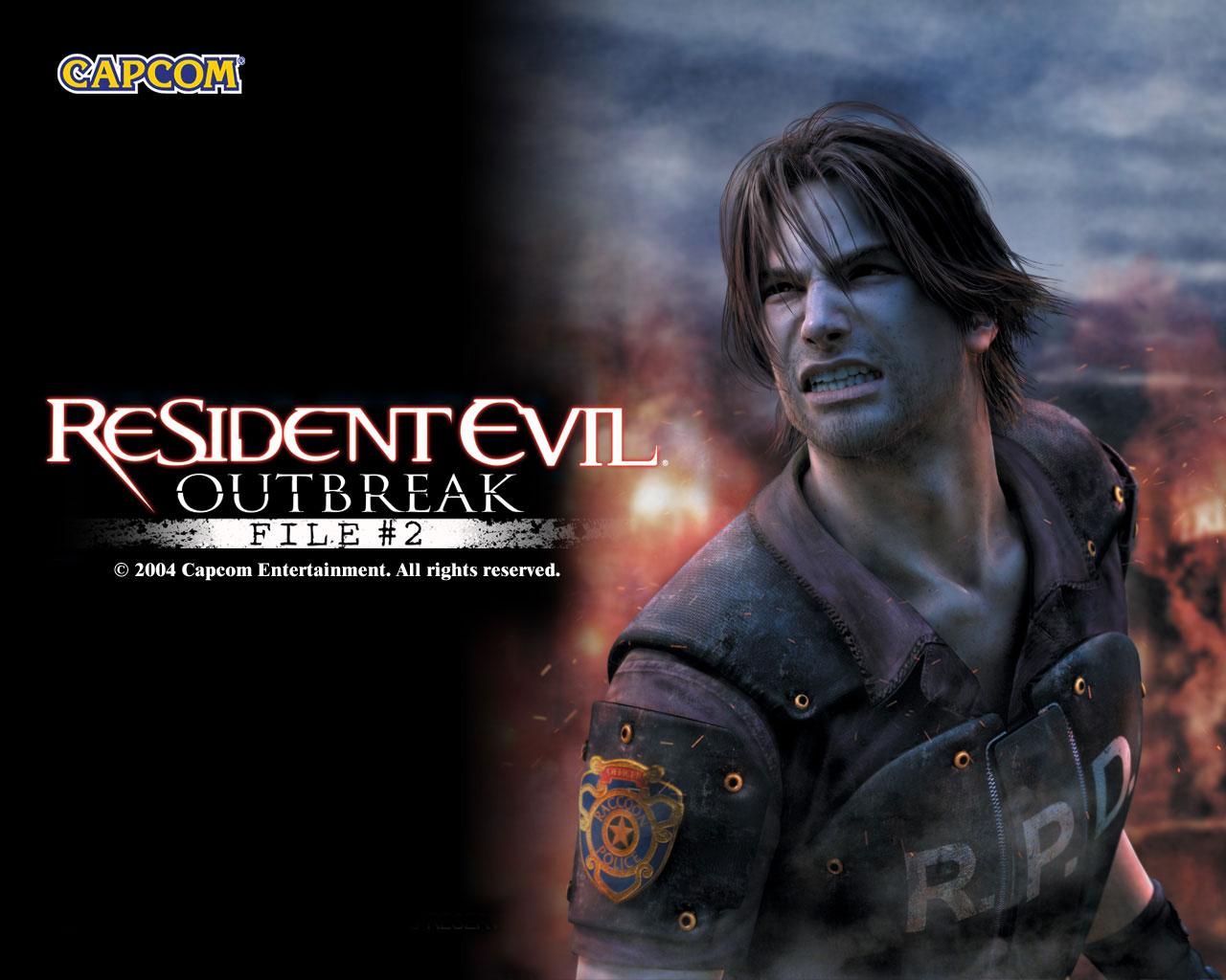 Resident Evil 2 Wallpaper: Image - Outbreak File 2 Wallpaper 6.jpg