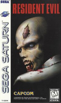 RE Sega Saturn Manual Cover