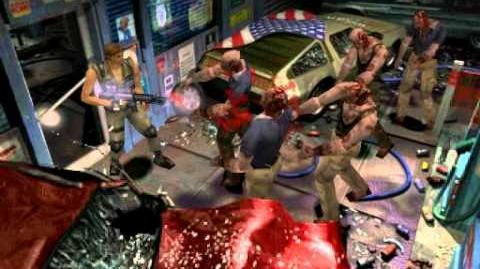 Resident Evil 3 Nemesis cutscenes - Hero Time (alternate)
