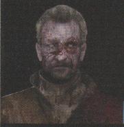 Degeneration Zombie face model 35