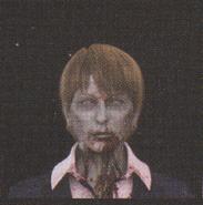 Degeneration Zombie face model 60