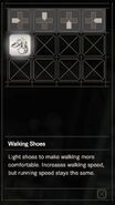 RESIDENT EVIL 7 biohazard Walking Shoes inventory