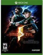 Resident Evil 5 Xbox One Box Artwork - Front