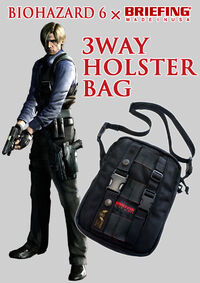 RE.NET Extra File Bi6 Briefing 3-way Holster Bag