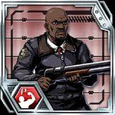 BIOHAZARD Clan Master - Character card - Mark Wilkins
