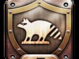 Raccoon City Mascot