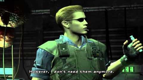 Resident Evil The Umbrella Chronicles all cutscenes - Mansion Incident 3 scene 1