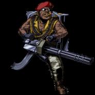 Gatling Gun Majini Clan Master