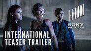 RESIDENT EVIL THE FINAL CHAPTER - International Teaser Trailer