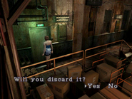 Resident Evil 3 Nemesis screenshot - Uptown - Warehouse examine 13